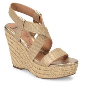 Sofft Women's Perla Wedge Sandals Size 11